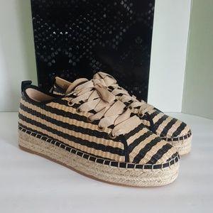 New Sam Edelman Celina Espadrille Flat Sneakers